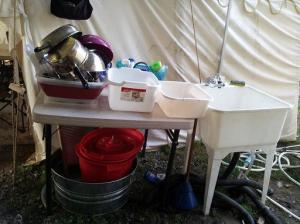 Setting Up A Camp Kitchen My Way