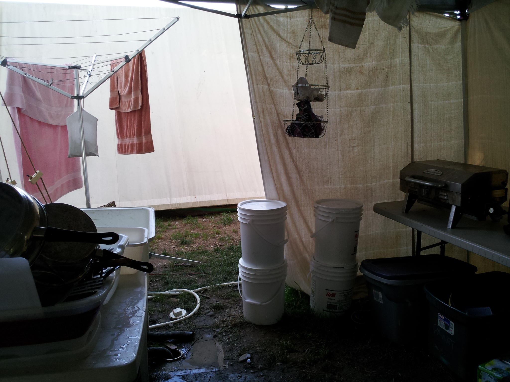 Setting Up A Camp Kitchen My Way American Preppers Network